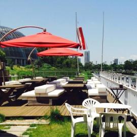 in Yumenoshima | マリーナレストラン『Dimare』のテラスBBQを企画