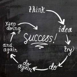 成功に必要なのは失敗ではなく、考える力と生み出すアイデア。そしてチャレンジをやめないこと